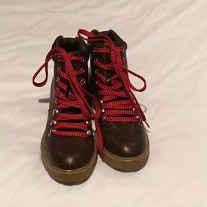 6 1/2 hiking boots vegan leather target